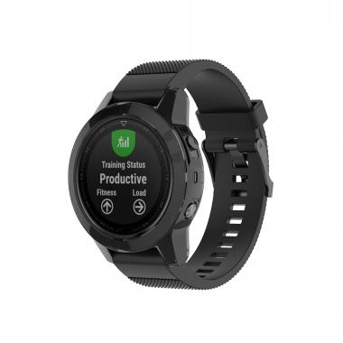 ЧЕХОЛ GARMIN FENIX 5|FENIX 5 PLUS| (ЧЕРНЫЙ) 010-70001-16