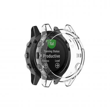 ЧЕХОЛ GARMIN FENIX 5X|FENIX 5X PLUS|FENIX 3|BLACK CLEAR (ПРОЗРАЧНЫЙ) 010-70001-18