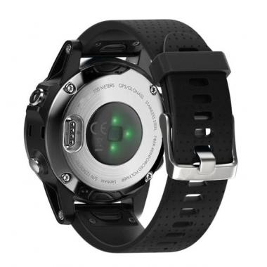 РЕМЕШОК GARMIN FENIX 5S|FENIX 5S PLUS|20 MM (СИЛИКОН) QUICK FIT BLACK (ЧЕРНЫЙ) 010-70000-31
