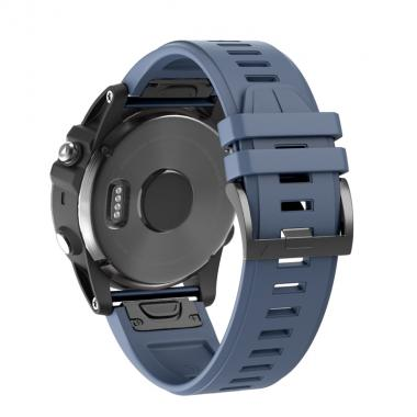 РЕМЕШОК ДЛЯ GARMIN FENIX FENIX 5X PLUS 26 MM (СИЛИКОН) QUICKFIT STONE (ГРАФИТ) 010-70000-48