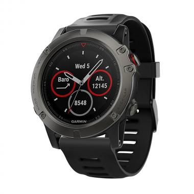 РЕМЕШОК ДЛЯ GARMIN FENIX 3|FENIX 3HR|TACTIX|26 MM (СИЛИКОН) BLACK (ЧЕРНЫЙ) 010-70000-72