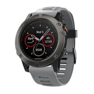 РЕМЕШОК ДЛЯ GARMIN FENIX 3|FENIX 3 HR|TACTIX|26 MM (СИЛИКОН) GRAY (СЕРЫЙ) 010-70000-77