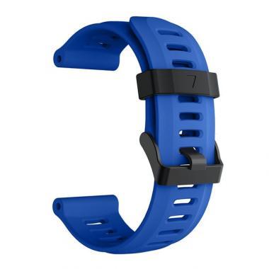 РЕМЕШОК ДЛЯ GARMIN FENIX 3|FENIX 3 HR|TACTIX|26 MM (СИЛИКОН) ROYAL BLUE (СИНИЙ) 010-70000-81