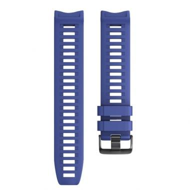 РЕМЕШОК GARMIN INSTINCT | INSTINCT SOLAR | INSTINCT TACTICAL - СИЛИКОНОВЫЙ NAVY BLUE (ТЕМНО - СИНИЙ) 010-70002-29