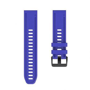 РЕМЕШОК GARMIN FENIX 6S | FENIX 5S PLUS | FENIX 5S - ROYAL BLUE (СИНИЙ) 20 MM QUICKFIT 010-70003-50