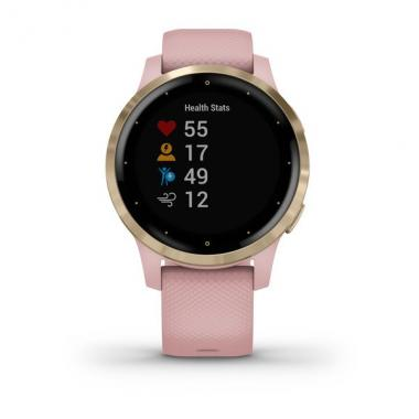 GARMIN VIVOACTIVE 4S DUST ROSE LIGHT GOLD 010-02172-33