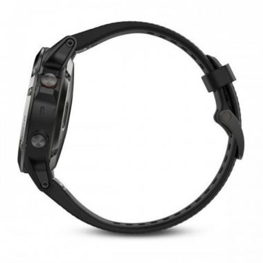 ЧАСЫ GARMIN FENIX 5 SLATE GRAY WITH BLACK BAND PERFORMER BUNDLE 010-01688-30