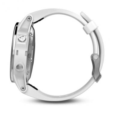 ЧАСЫ GARMIN FENIX 5S WHITE WITH CARRARA WHITE BAND 010-01685-00