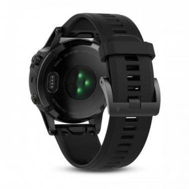 ЧАСЫ GARMIN FENIX 5 SAPPHIRE BLACK WITH BLACK BAND 010-01688-11