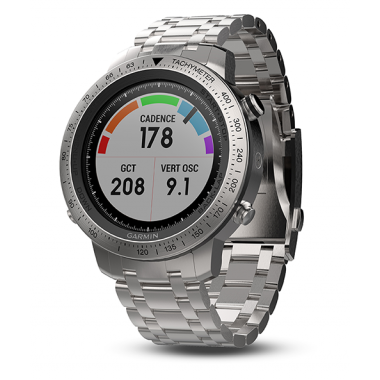 ЧАСЫ GARMIN FENIX CHRONOS WITH BRUSHED STAINLESS STEEL WATCH BAND 010-01957-02