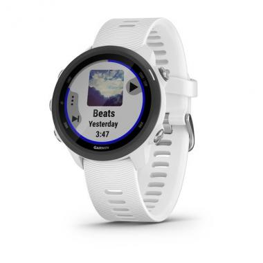ЧАСЫ GARMIN FORERUNNER 245 MUSIC WHITE BLACK 010-02120-31
