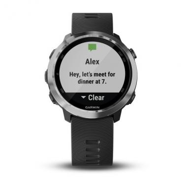 ЧАСЫ GARMIN FORERUNNER 645 MUSIC WITH BLACK COLOURED BAND 010-01863-30