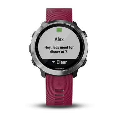 ЧАСЫ GARMIN FORERUNNER 645 MUSIC WITH CERISE COLOURED BAND 010-01863-31