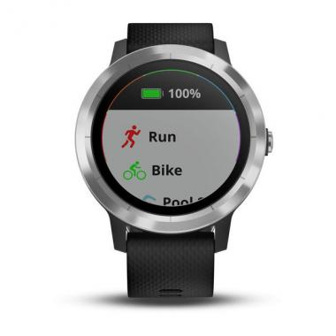 ЧАСЫ GARMIN VIVOACTIVE 3 BLACK WITH STAINLESS HARDWARE 010-01769-02