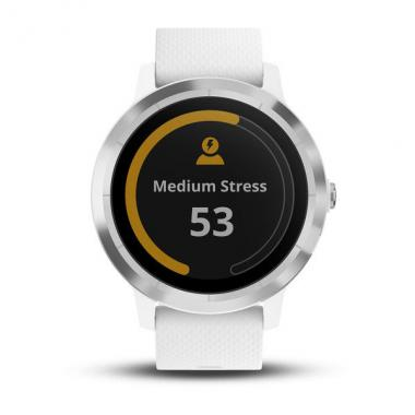 ЧАСЫ GARMIN VIVOACTIVE 3 WHITE WITH STAINLESS HARDWARE 010-01769-22