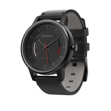 ЧАСЫ GARMIN VIVOMOVE CLASSIC BLACK WITH LEATHER BAND 010-01597-10