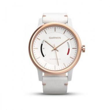 ЧАСЫ GARMIN VIVOMOVE CLASSIC WHITE WITH LEATHER BAND 010-01597-11