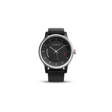 ЧАСЫ GARMIN VIVOMOVE SPORT BLACK WITH SPORT BAND 010-01597-00