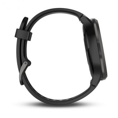 ЧАСЫ GARMIN VIVOMOVE HR SPORT BLACK WITH BLACK BAND LARGE 010-01850-21