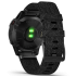 ЧАСЫ GARMIN FENIX 6 SAPPHIRE BLACK DLC WITH HEATHERED BLACK NYLON BAND 010-02158-17