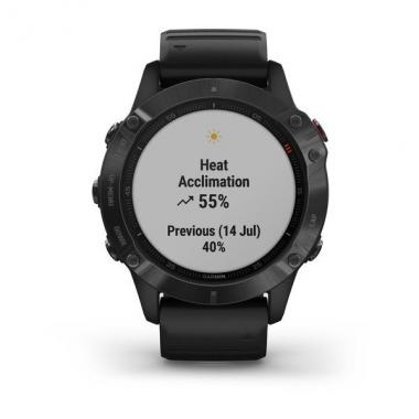 ЧАСЫ GARMIN FENIX 6 PRO BLACK WITH BLACK BAND 010-02158-02