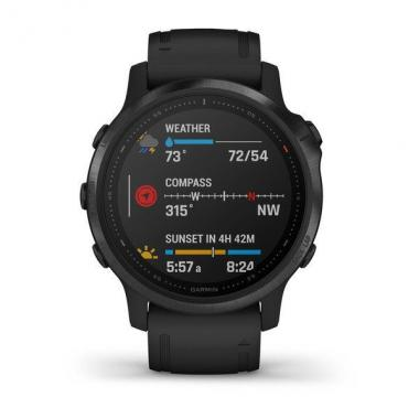 FENIX 6S PRO SAPPHIRE BLACK WITH BLACK BAND 010-02159-14