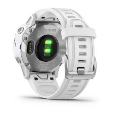FENIX 6S SILVER WITH WHITE BAND 010-02159-00