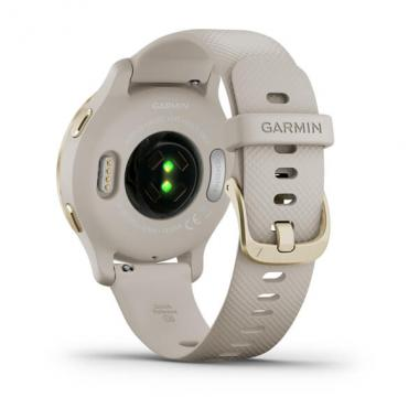 ЧАСЫ GARMIN LIGHT GOLD BEZEL WITH LIGHT SAND CASE AND SILICONE BAND 010-02429-11