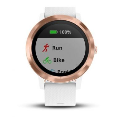 ЧАСЫ GARMIN VIVOACTIVE 3 WHITE WITH ROSE GOLD HARDWARE WHITE 010-01769-07