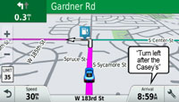 DriveLuxe 50LMT.  Навигация