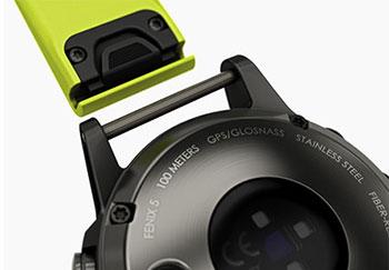 Легкая замена ремешка Garmin 5X