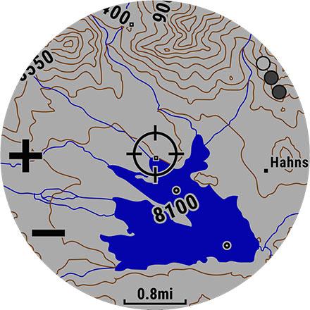 Карты Garmin fenix 5